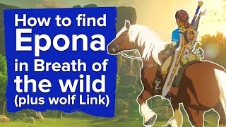 How to find Epona in Breath of the Wild plus Wolf Link Amiibo
