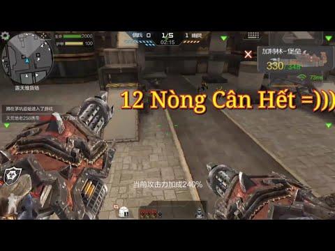 CF Mobile/CF Legends | Dual Gatling [VIP] - 12 Nòng Cân Hết =)))