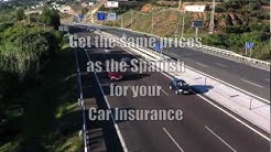 Car Insurance Spain 2013 - In English for Expats