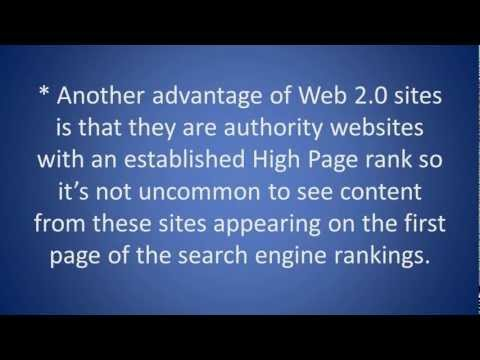 SEO Tip - How to build web 2.0 Backlinks