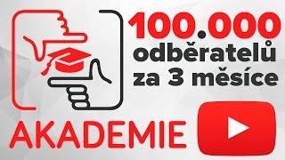 YOUTUBE AKADEMIE ZAČÍNÁ!!! - ÚVOD