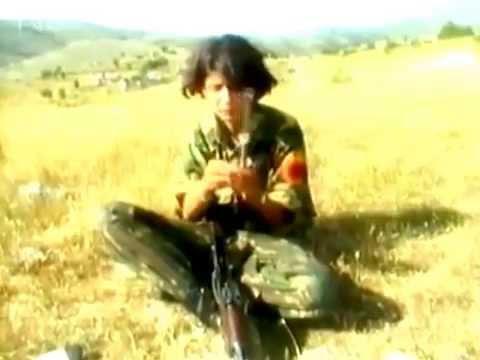 SOLDATIN SEVDIJE - Ushtarja Sevdije në UÇK 1999- TV NDR -Gjermani