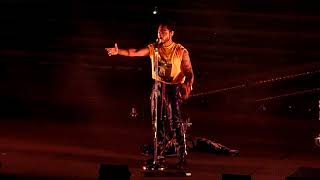 """Miguel performing """"Sure Thing"""" live @ the Greek Theatre in Berkeley California April 12, 2018"""