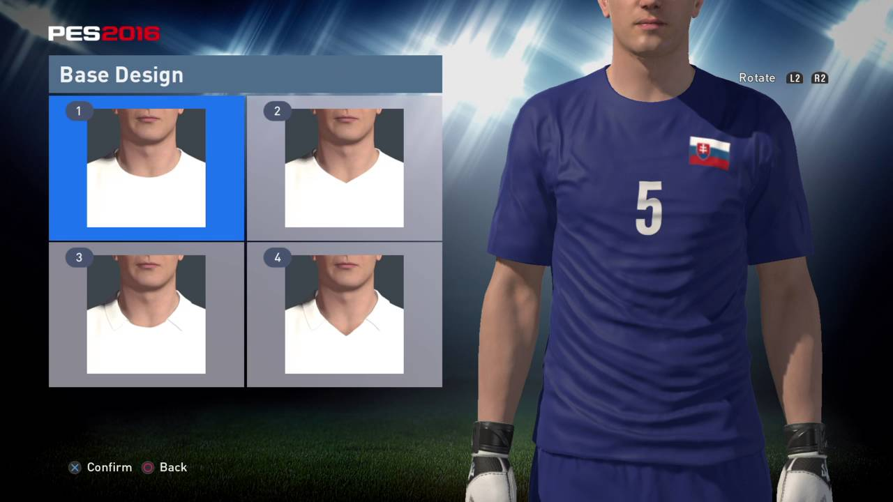 PES World PES 2016 Slovakia Euro 2016 kit instructions