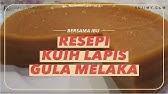 Pandan Gula Melaka Sliced Cake Recipe One Is Never Enough