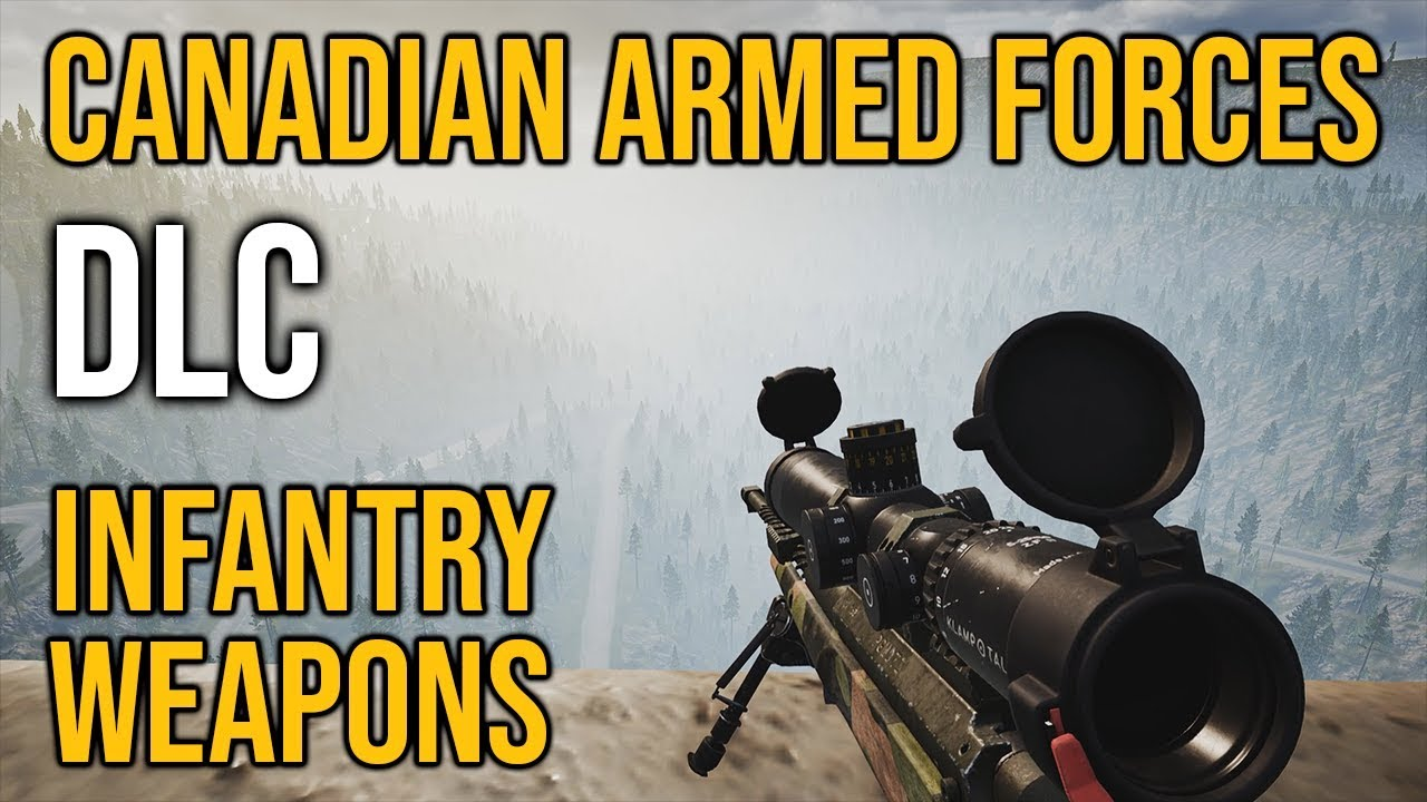 Canadian Armed Forces DLC - Infantry Weapons TESTED – Squad V15