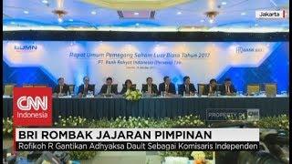 BRI Rombak Jajaran Pimpinan - RUPS Bank BRI