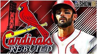 ST. LOUIS CARDINALS REBUILD!!   MLB the Show 18 Franchise Rebuild