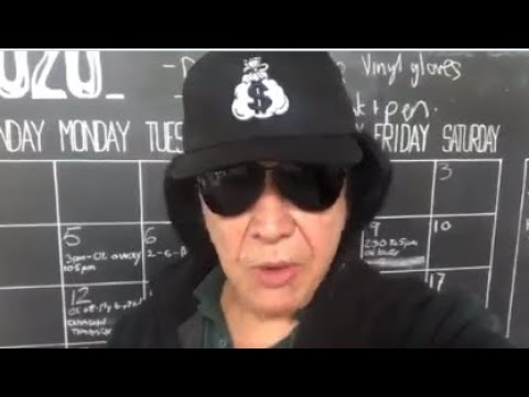 KISS' Gene Simmons posts an emotional video to Eddie Van Halen on Twitter