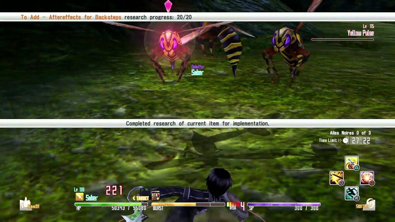 Sword Art Online Re: Hollow Fragment - Element