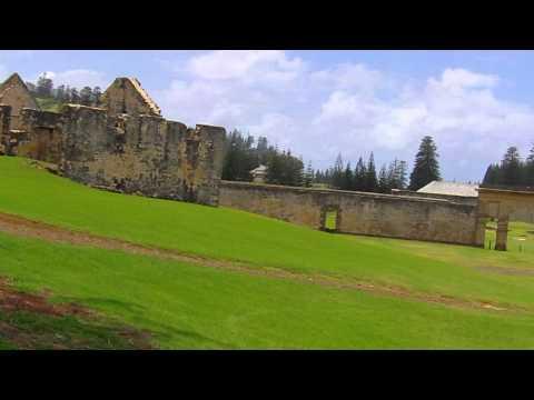 Norfolk Island penal settlement of the 1820s