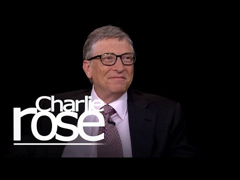 Bill and Melinda Gates on Philanthropy (Jan. 21, 2015) | Charlie Rose