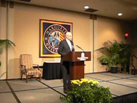 Ron Smith Emcees CPS Alumni Awards at Marquette University