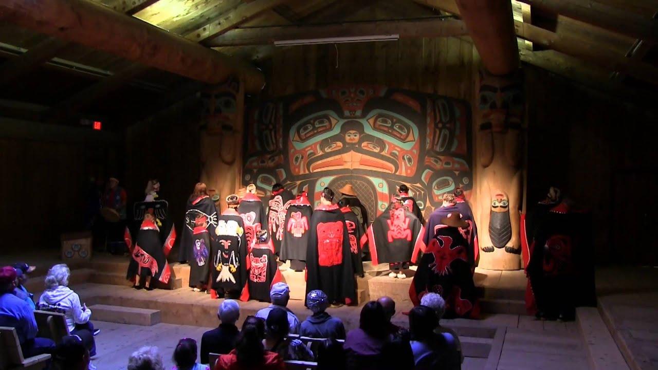 Totem Bight State Park Tour Ketchikan Ak Youtube