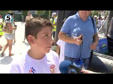 Роналдо, Зидан, Мурињо, Рамос пристигнаа, фудбалска еуфорија во Скопје
