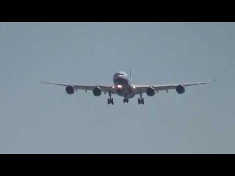 *Rare* Las Vegas Sands Corp. A340-541 (VP-BMS) arrives at Las Vegas!