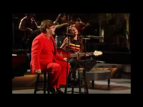 Elton john - Something about the way you look tonight (with Shania Twain)