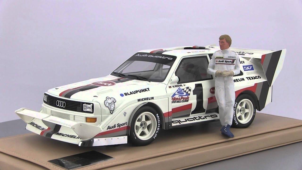ckmodelcarsvideo Walter Rhrl  Audi Sport quattro S1 Pikes