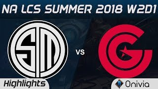 Video TSM vs CG Highlights NA LCS Summer 2018 W2D1 Team Solo Mid vs Clutch Gaming by Onivia download MP3, 3GP, MP4, WEBM, AVI, FLV Juni 2018