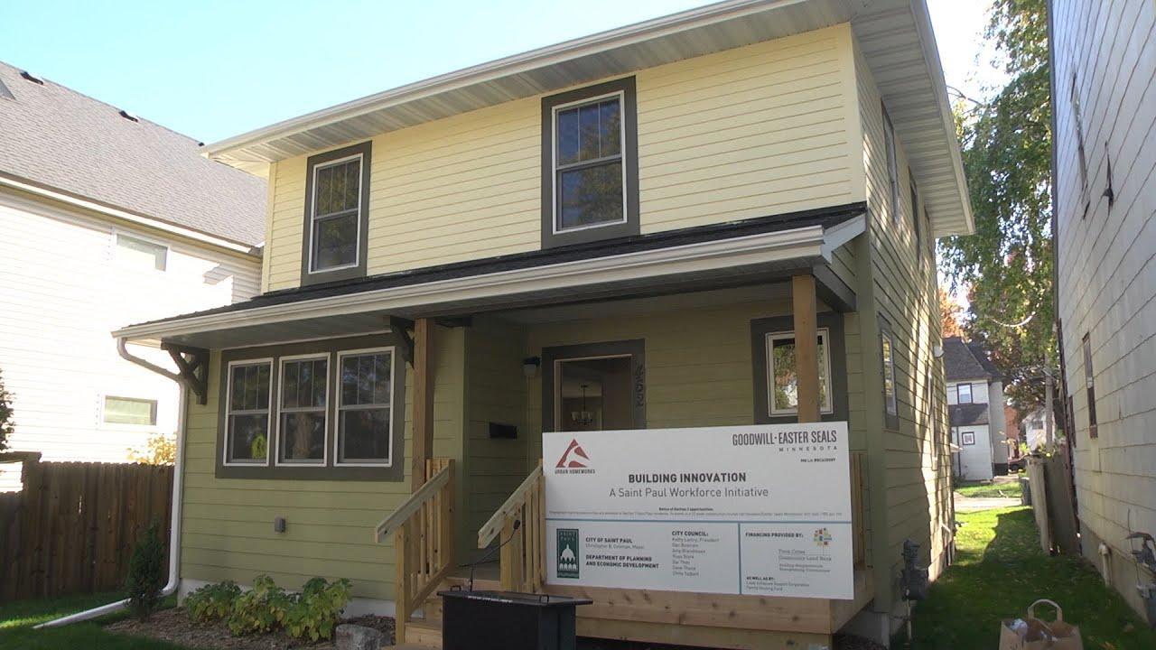 Job Program Creates Housing. City of Saint Paul Communications Services
