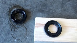 DIY Honda Transmission Seal Replacement