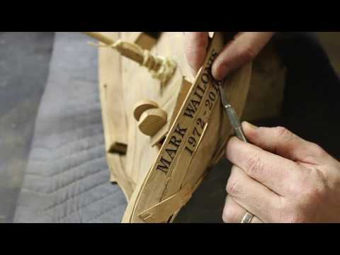 Model Boat made from Reclaimed Boat Wood