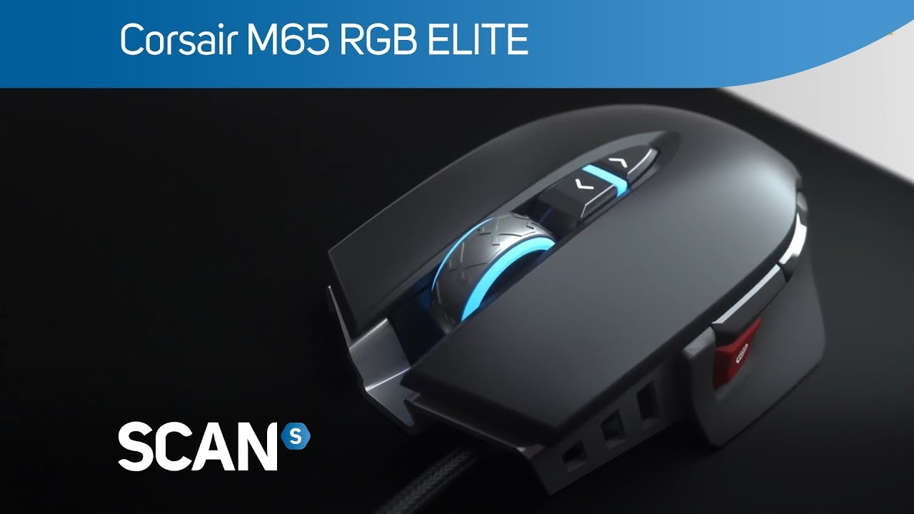 Product information for Corsair M65 RGB ELITE Tunable FPS