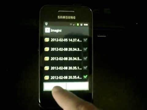 android allshare samsung galaxy ace