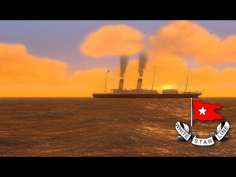 White Star Liners In Vehicle Simulator