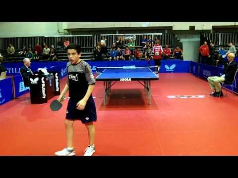 Horacio Cifuentes en Mundial sub 15 Eslovenia 2013 - VS Chaplygin (Europa) parte 6