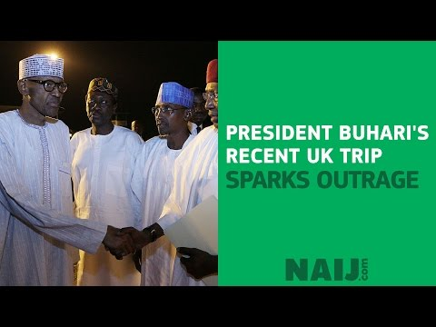 Nigerians react to Buhari's 'return' to London; have you prayed for him?