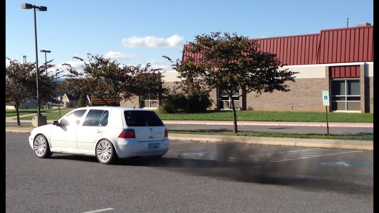 Vw golf tdi straight pipe exhaust injector upgrade youtube sciox Images