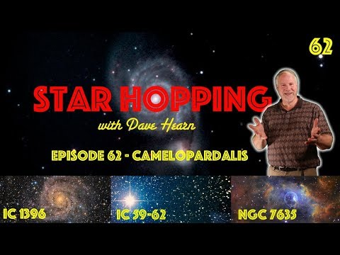Star Hopping #62 - Find IC 342, IC 59-63, and The Bubble Nebula