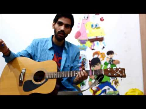 Romantic Mashup Super Beginners ( G , D , Em , C ) - Guitar cover lesson chords Hindi  bollywood