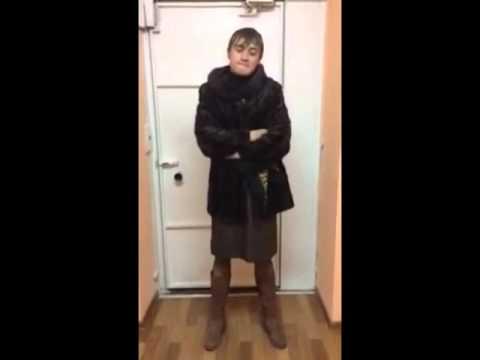 Видео о том как парень переоделся в девушку