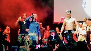 Download XXXTENTACION Brings Out Lil Pump - D Rose - Revenge Tour - The Novo in LA Mp3 and Videos