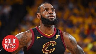 LeBron James' communication with Cavaliers and how Kawhi Leonard impacts him | Golic & Wingo | ESPN