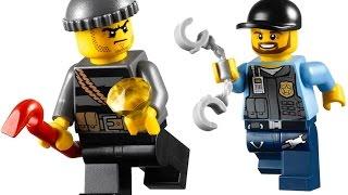 Lego - police catch criminals / Лего - полиция ловит преступников / Мультики для детей