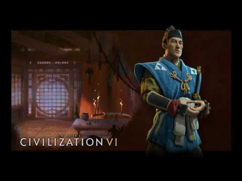 Civ 6 Japan Hojo tokimune Theme music Full