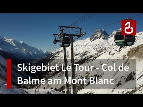 Skigebiet Col de Balme (Vallorcine - Le Tour)