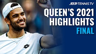 Matteo Berrettini vs Cameron Norrie | Queen's 2021 Final Highlights