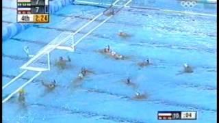 Waterpolo - 2004 olympic final last 10 min