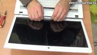 Замена экрана на ноутбуке Packard bell ms2290(, 2013-10-10T13:05:26.000Z)