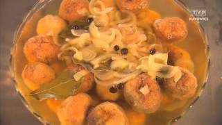 Rączka gotuje - kulki rybne, zupa z brukwi, golonka na ostro