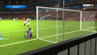 Galatasaray v Real Madrid - Matchday 1 Group St. UEFA Champions League 2013/2014 Simulation PES 2014