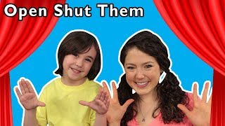 Open Shut Them + More | Mother Goose Club Playhouse Songs & Rhymes