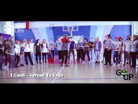 T.Cash - Spread Ya Legs I Tony Tzar I Top England Dance Weekend #GOUPDC