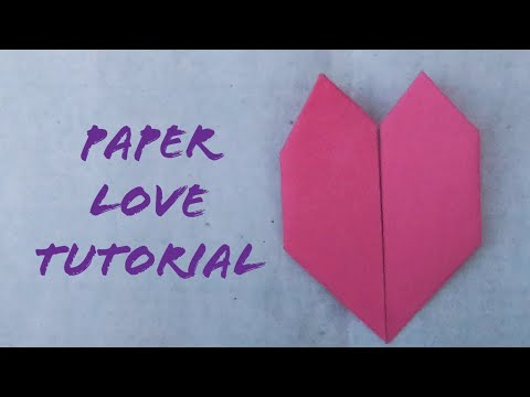 Easy And Simple Paper Love|DIY Love Tutorial|Paper Crafts|The Best Crafts