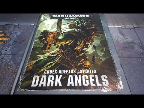 8th edition Codex Dark Angels; review