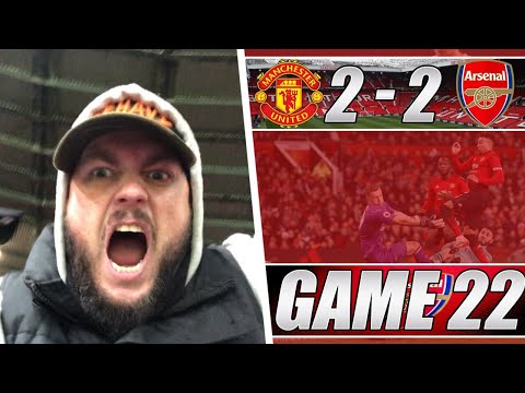 Man United 2 vs 2 Arsenal - Two Points Dropped Against A Poor Team - Matchday Vlog